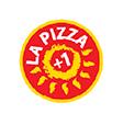 La Pizza più Una Logo